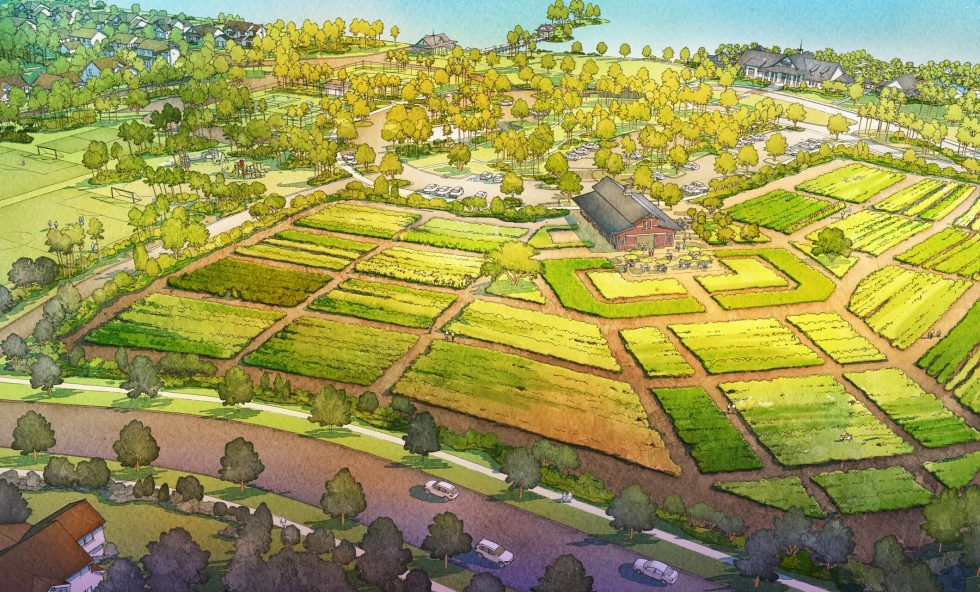 2,000-home, farm-themed neighborhood — known as an 'agrihood' — coming to Wellington area