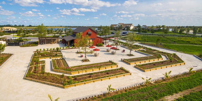 Arden, South Florida's First Agrihood, Unveils Barn for Food-Focused Events