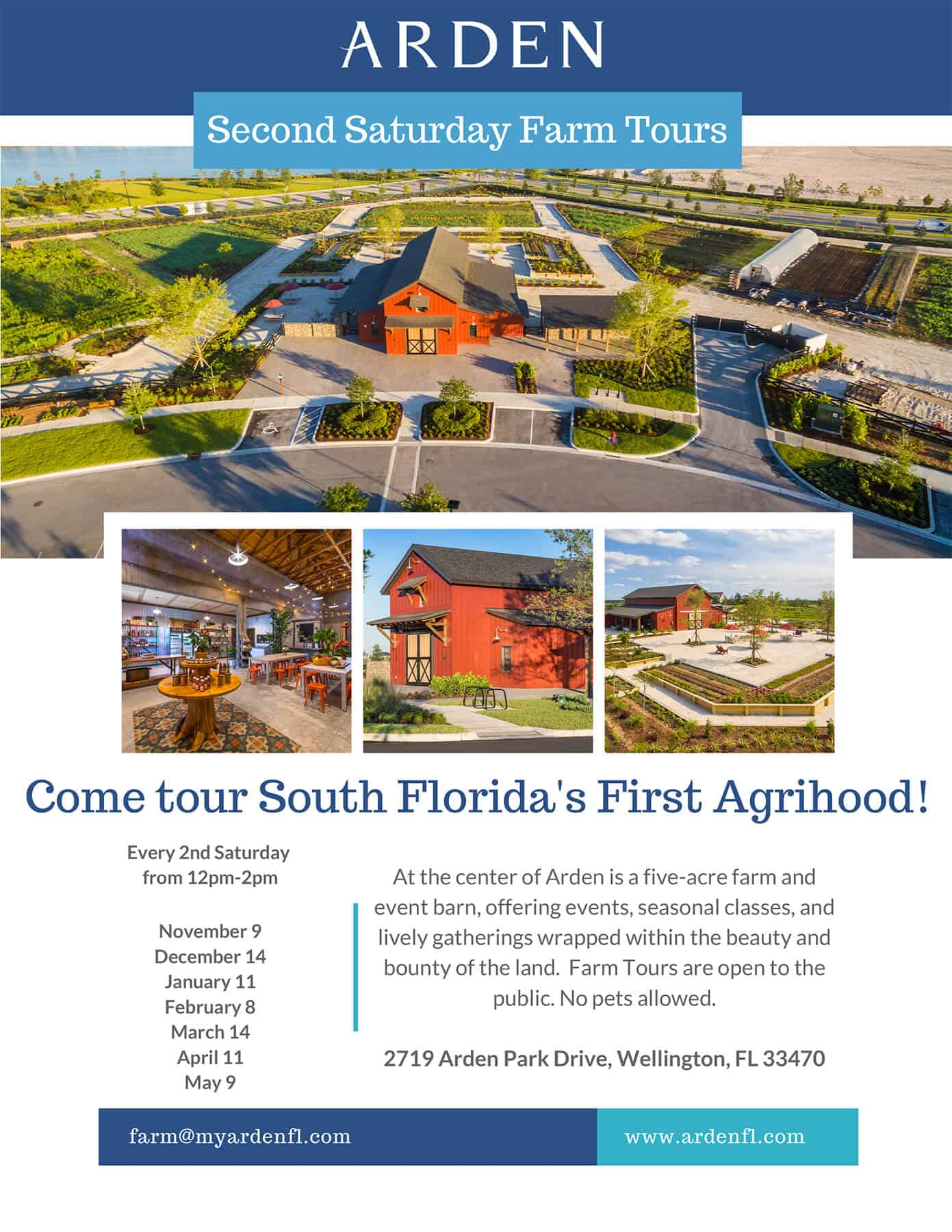 Second Saturday Farm Tours