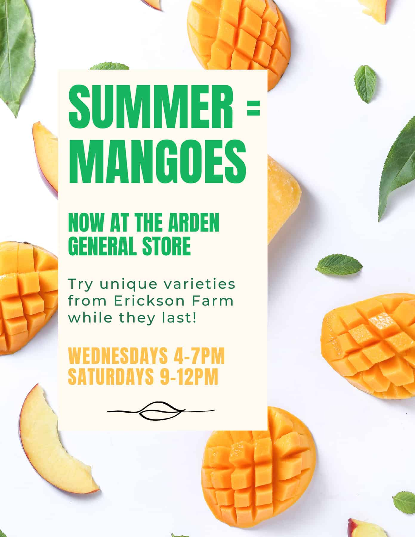 Summer = Mangoes