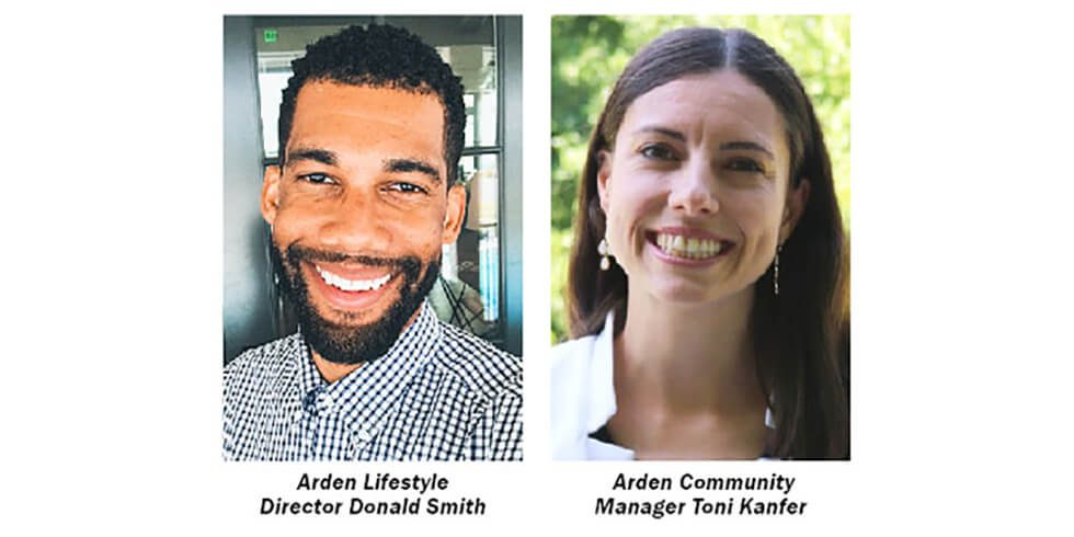 New Community Manager And Lifestyle Director Join Arden