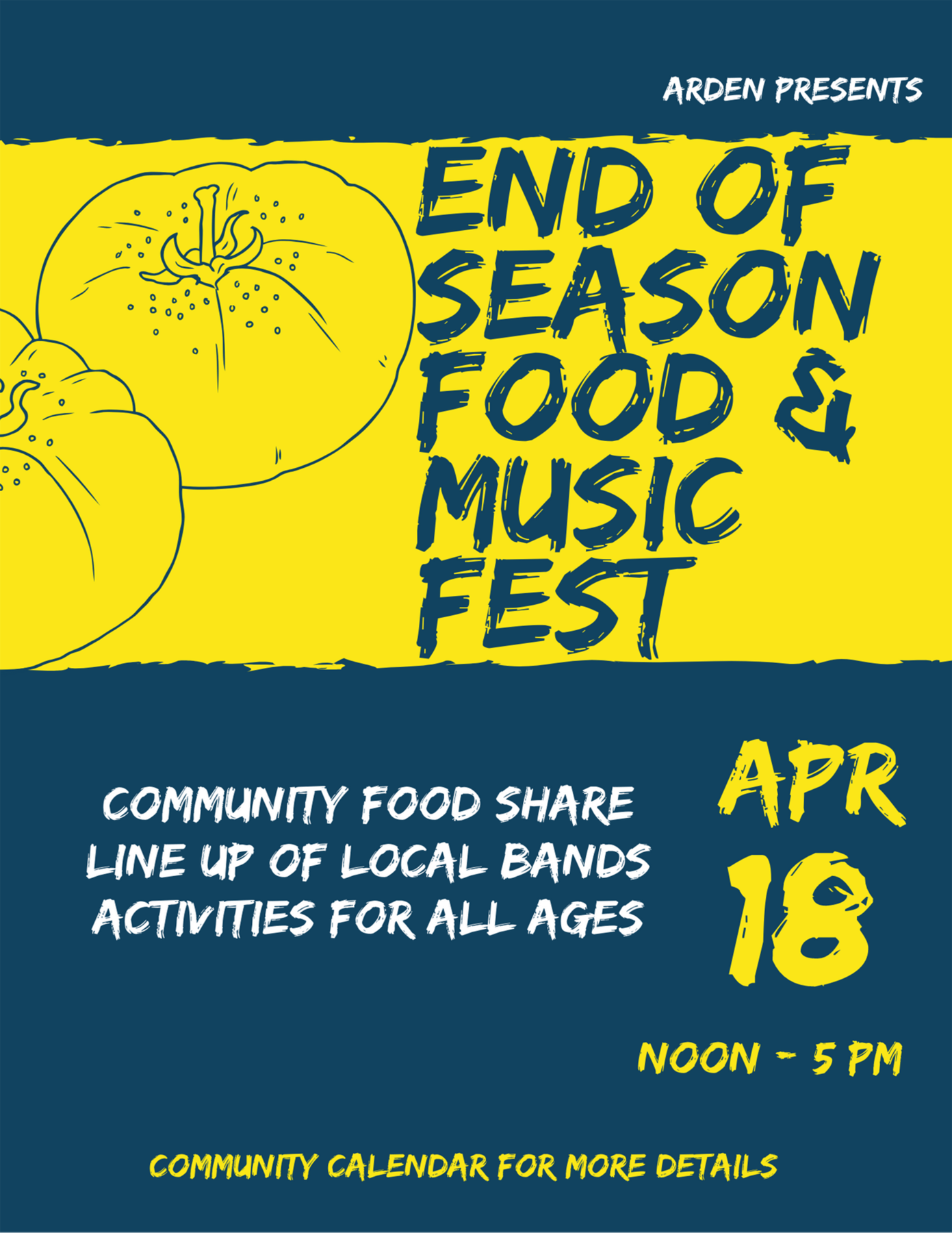 End of Season Food & Music Fest